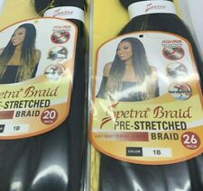 "26"" or 20"" Spectra EZ Braid Hair Pre-Stretched Innocence EZ Brading Itch Free"