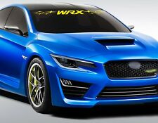For SUBARU WRX Impreza VINYL STICKER Bumper Windshield BANNER JDM DECALS Graphic