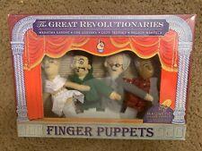 Great Revolutionaries Finger Puppets Gandhi Guevara Trotsky Mandela