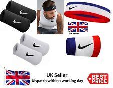 RW Nike Swoosh Headband Tennis Squash Badminton Gym Sweat Bands Black Pink NK282