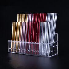 cosmetic eyebrow liner brush pen pencil display desk organiser holder, 48 slot