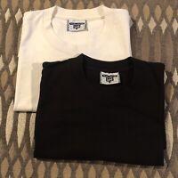 Vintage Lee Total Cotton T Shirt Sz L Deadstock USA Lot Of Two