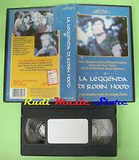 VHS film LA LEGGENDA DI ROBIN HOOD Errol Flynn LEGOCART LEG-AV 005 (F86) no dvd