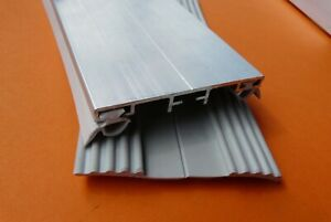 Alu - Verlege Profil 8 bis 10mm für VSG- Glas Mittelprofil incl. Dichtung 9,25 €