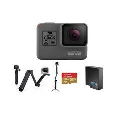 GoPro HERO5 Black W/GoPro 3-Way 3-in-1 Mount, 32GB MicroSDHC U3 Card, Spare Batt