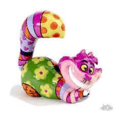 Disney By Britto Cheshire Cat New/Boxed Mini Figurine Alice Im Wunderland