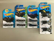 HOT WHEELS BATMAN MIXED THE BAT BATMOBILE CLASSIC TV SERIES LOT OF 8