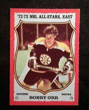 1973 73-74 OPC Bobby Orr (30) All-Star Tough Dark Back Version NM-MINT+++Beauty
