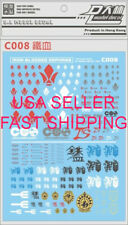 US Seller DL Dalin Waterslide decal C008 IBO Barbatos Gusion Graze Gundam Gunpla