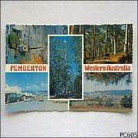 Pemberton Western Australia 5 Views Murray Views MV W17 Postcard (P605)