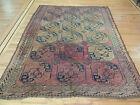 "Antique Bokhara wool Oriental  Square 7x7, 8x8 Area Rug  ""Ralph Lauren style"""