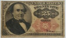 25 CENT 5TH ISSUE FRACTIONAL CURRENCY 1874 LOOKS LIKE FR 1308 OR 1309 #P