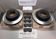 Toyota Tundra 07-17 Sequoia 08-17 Front Brake Pads & Rotors Genuine OEM OE