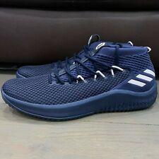 New Adidas Dame 4 Mens Basketball Shoes Navy Blue Sz US 18 B76010 Damian Lillard