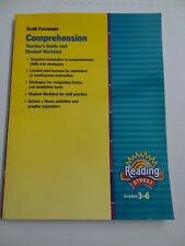 Reading Street Grades 3-6 Comprehension Teacher's Guide and Student Worktext
