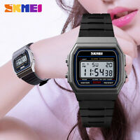 SKMEI Sports Watches Women Men Digital Chrono Waterproof LED Wristwatch 1412 69