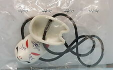 Japanese Traditional Mini Fox Mask With Band #3, 1pc - Shine G    ^_^