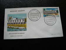 GABON - enveloppe 1er jour 28/4/1963 (cy57) (A)