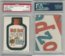 1979 Topps, Wacky Packs, Reissue, Medi-Quak, PSA 9 Mint