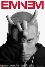 EMINEM MUSIC POSTER (61x91cm) DEVIL HORNS MATHERS PICTURE PRINT NEW ART