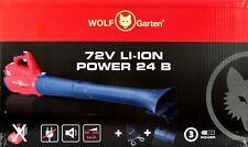 Wolf Garten 72 V LI-ION POWER 24 B 72V LAUBBLÄSER ohne Akku ohne Ladegerät
