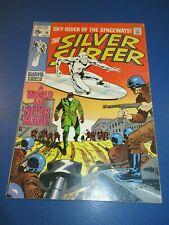 Silver Surfer #10 Silver age Fine/Fine+ Beauty Wow