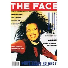 The Face Magazine November 1988 MBox2651 Emo Phillips Nick Cave  Neneh Cherry