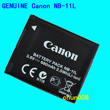 Genuine original Canon NB-11L Battery for IXUS275 265 125 155 160 170 A4000HS