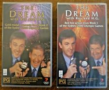 THE DREAM with Roy and H. G. Sydney 2000 Olympics VHS PAL Videos x 2