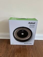 New In Box iRobot Roomba 895 Robotic Vacuum Wi-Fi with 2 Virtual Wall Barriers