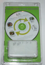 KIT: ALL-IN-ONE CARD READER PC SOFTWARE DESIGNED FOR ANY MOBILE MEMORY CARDS