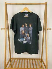 VTG 1999 Backstreet Boys Promo Tour Black Tultex T-Shirt Size L
