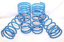 """BLUE Coil Lowering Spring Set 2"""" Drop for 1984-1987 Toyota Corolla DLX/FX/LE/GST"""