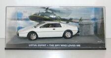 Modellini statici di auto, furgoni e camion per Lotus, scala 1:43, di James Bond