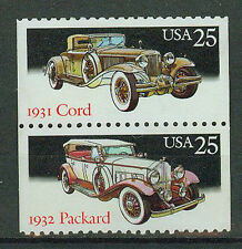 Briefmarken USA 1988 Automobile Mi.Nr.1999+2000