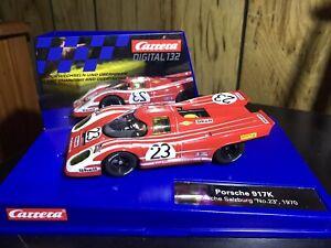 Carrera Digital 132 30833 Porsche 917K Slot Car No.23 w/ Upgrades