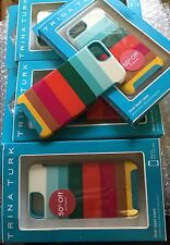 Lot of 5,Trina Turk Echo Dual Layer Phone Case for iPhone 5/5s Stripes