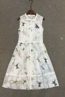 New Ted Baker Fortune Embroidered Bow Dress Sz 2,3,4,5