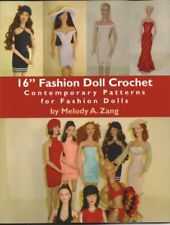 "16"" Fashion Doll Crochet - Contemporary Patterns for Fashion Dolls"