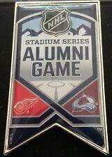 2016 STADIUM SERIES ALUMNI GAME PIN COLORADO AVALANCHE VS RED WINGS COORS FIELD