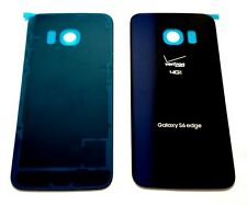 "OEM Battery Back cover For Samsung Galaxy S6 Edge G925V Verizon ""SAPPHIRE BLACK"""