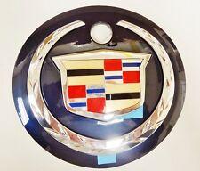 Cadillac ESCALADE REAR LIFTGATE EMBLEM 2002 2003 2004 2005 2006!! DARK BLUE!!