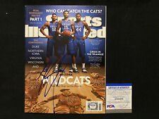 KARL ANTHONY TOWNS Autographed Autograph Auto Signed SPORTS ILLUSTRATED PSA/DNA