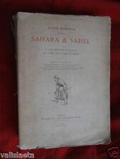 LIVRE RARE : SAHARA ET SAHEL FROMENTIN 1879 / PLON