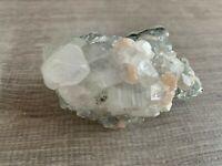 Apophyllite & Stilbite Crystal Specimen - Medium / Large