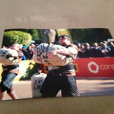 Mikhail Shivlyakov Hand Signed 12 X 8 Photo The Worlds Strongest Man