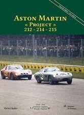 Aston Martin Project 212 214 215 (sports car racing DRR Monza) Buch book livre