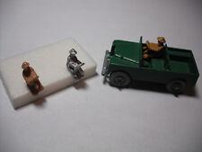 Matchbox 12c Land Rover Safari reproducción Marrón Plástico Techo Equipaje