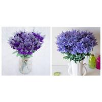5X(4 Bouquet Kuenstliche Lavendel Blumen Festival Party Dekorative Blume,HoW9T1)