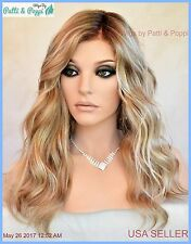 Sarah Jon Renau Lace Front Monotop Fully Hand Tied Wig 12FS8 REBATE w/Purchase